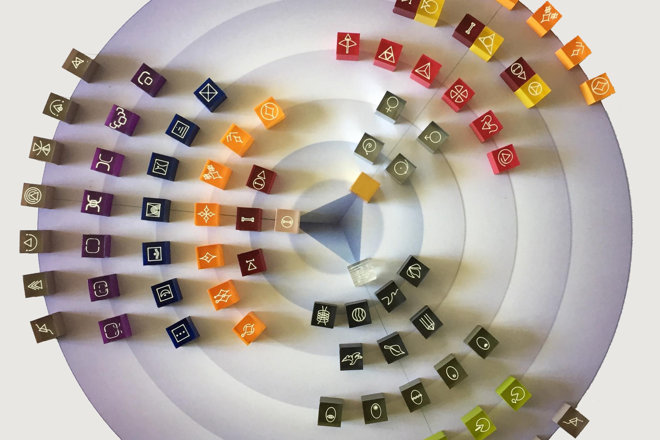 problemPlay-Steine in Kreis angeordnet